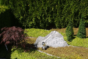 plante til gravsted