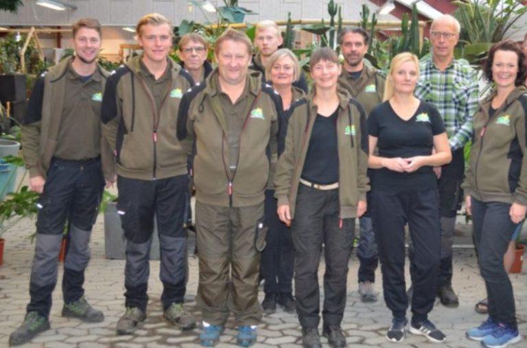 medarbejdere i gug planteskole